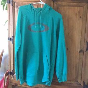 Jamie Anderson's Oakley hoodie